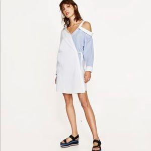 Zara Shirt Dress